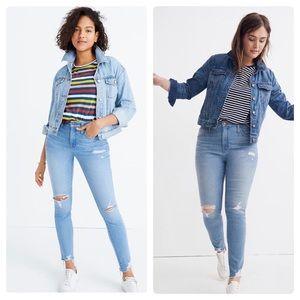 New Madewell Petite Curvy High-Rise Skinny Jeans